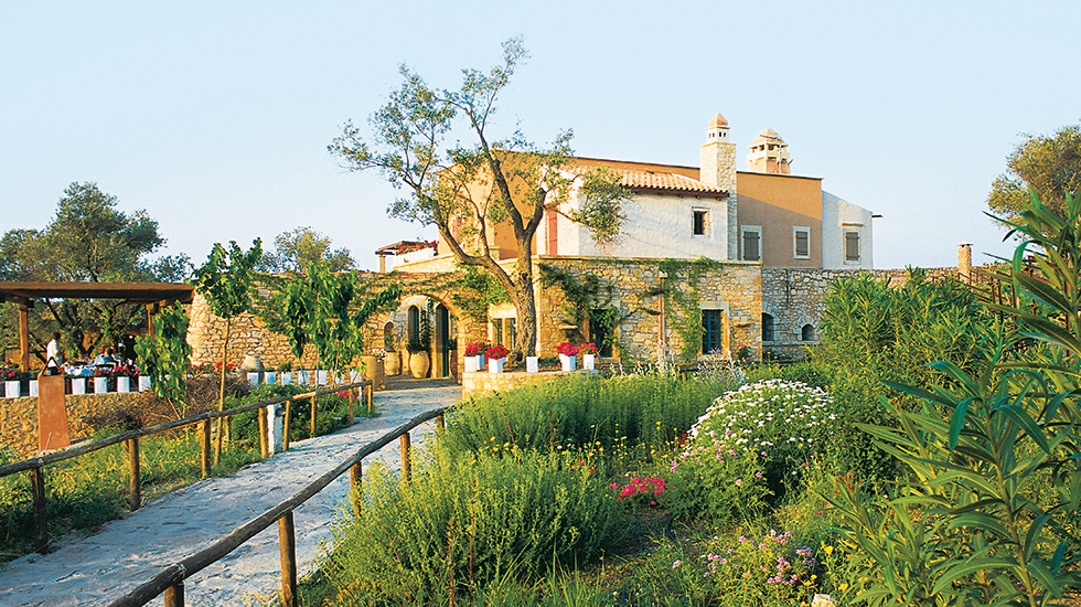 Agreco farm, Cretan organic dining