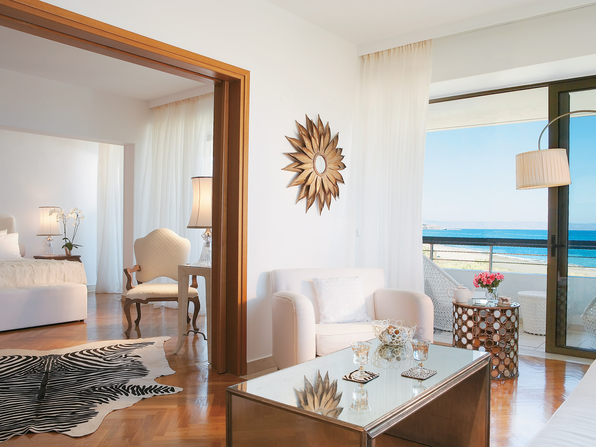 sea view suites in crete