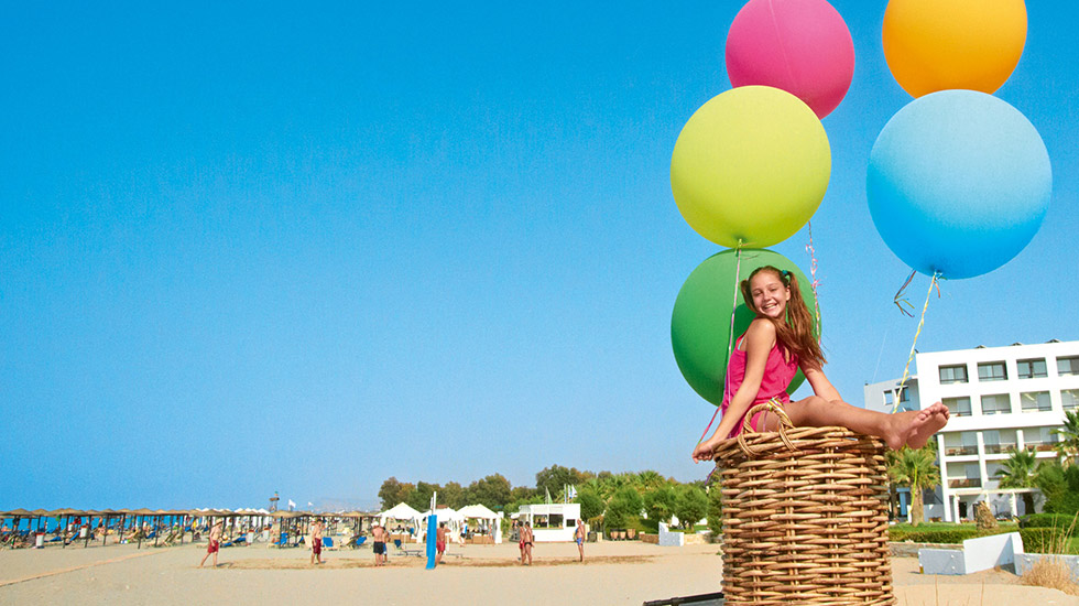 kids friendly activities resort rethymno crete
