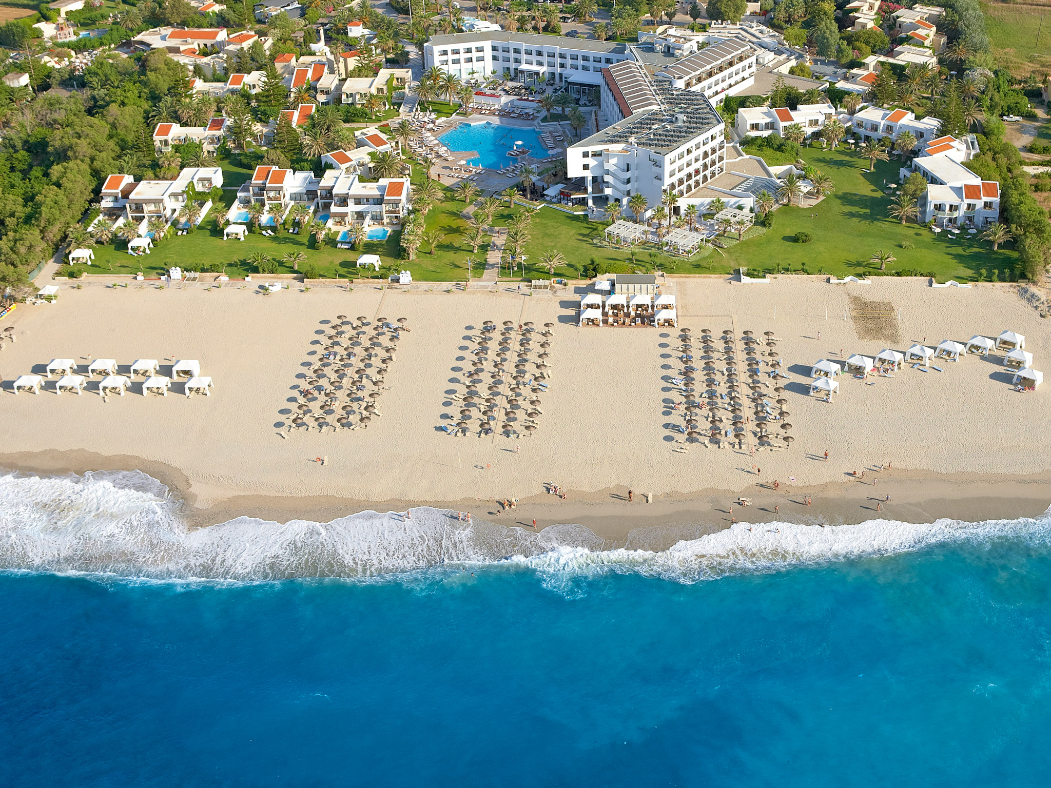 luxury beach resort in crete creta palace