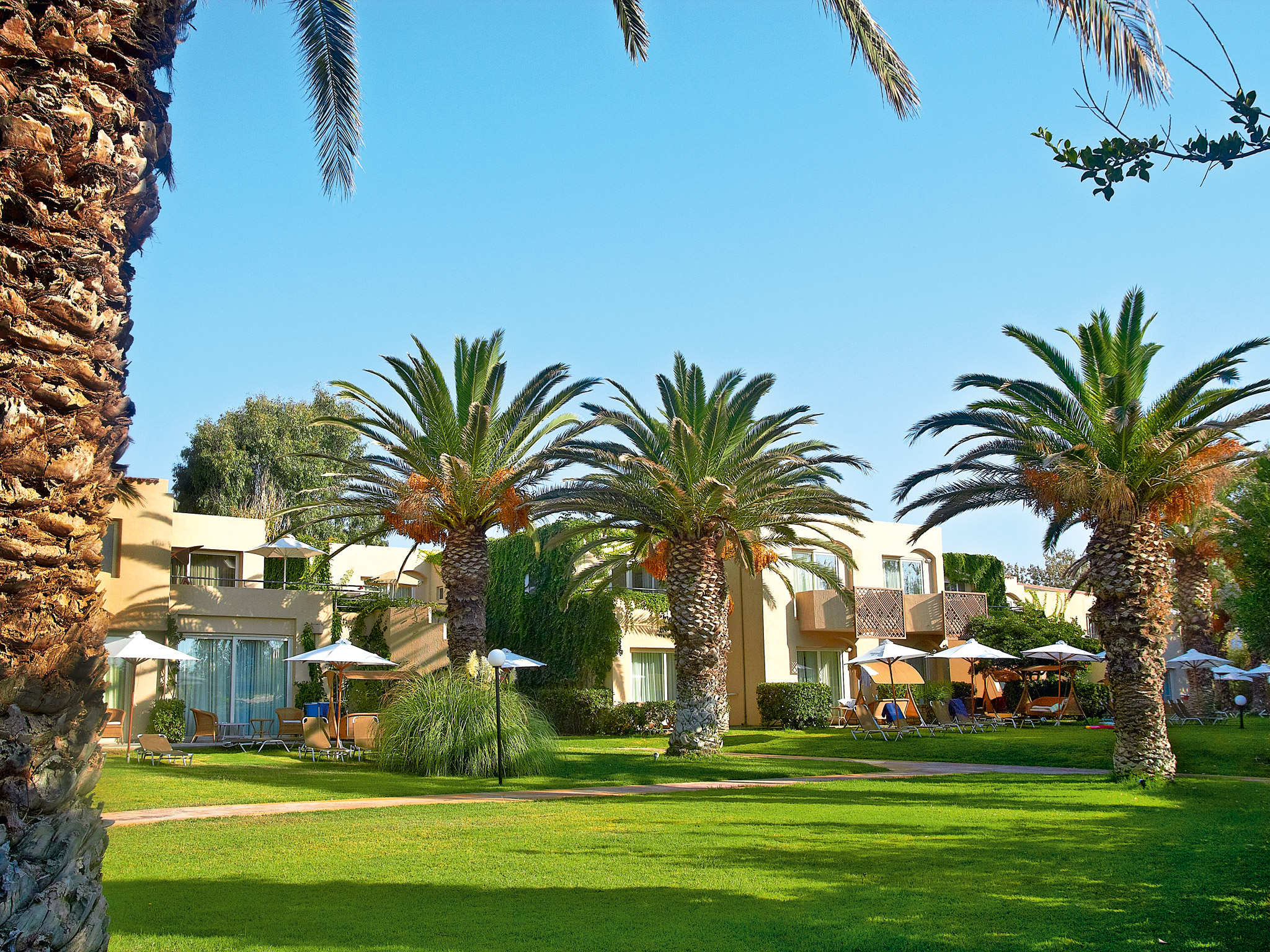 exotic gardens of creta palace luxury resort