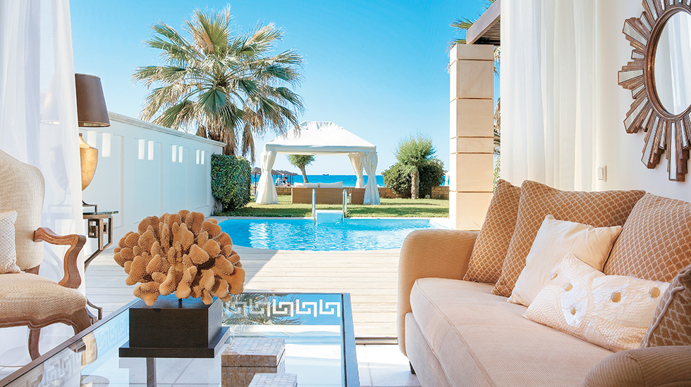 Creta Palace Dream Villa | Just a few steps away from the sea with private pool and fully furnished terrace