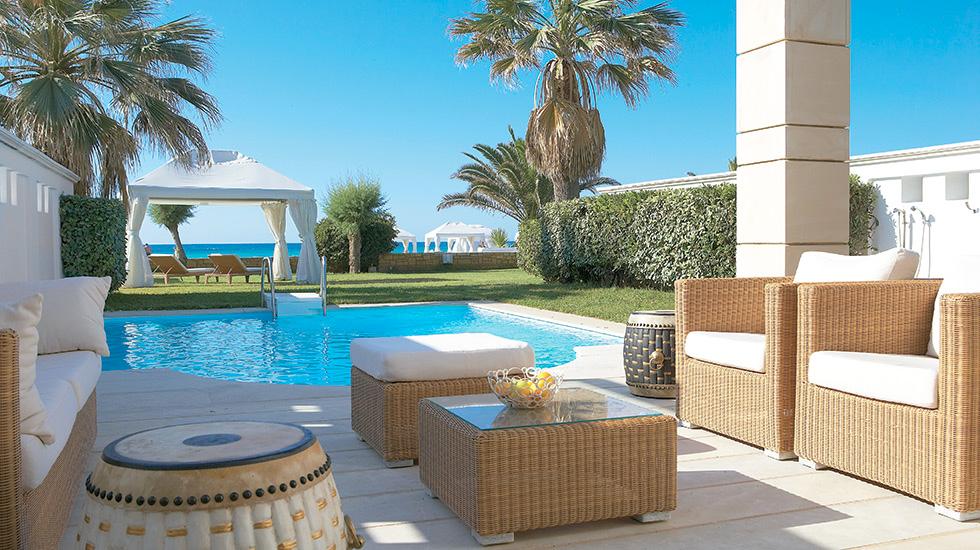 deluxe 1 bedroom bungalow suite private pool creta palace luxury 5 star hotel in crete. Black Bedroom Furniture Sets. Home Design Ideas