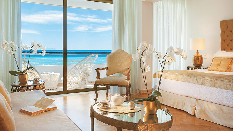 Palace Guestroom | Master Bedroom Suite with breathtaking views over the sea